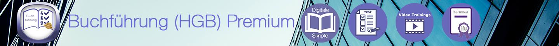 Buchführung Premium Banner