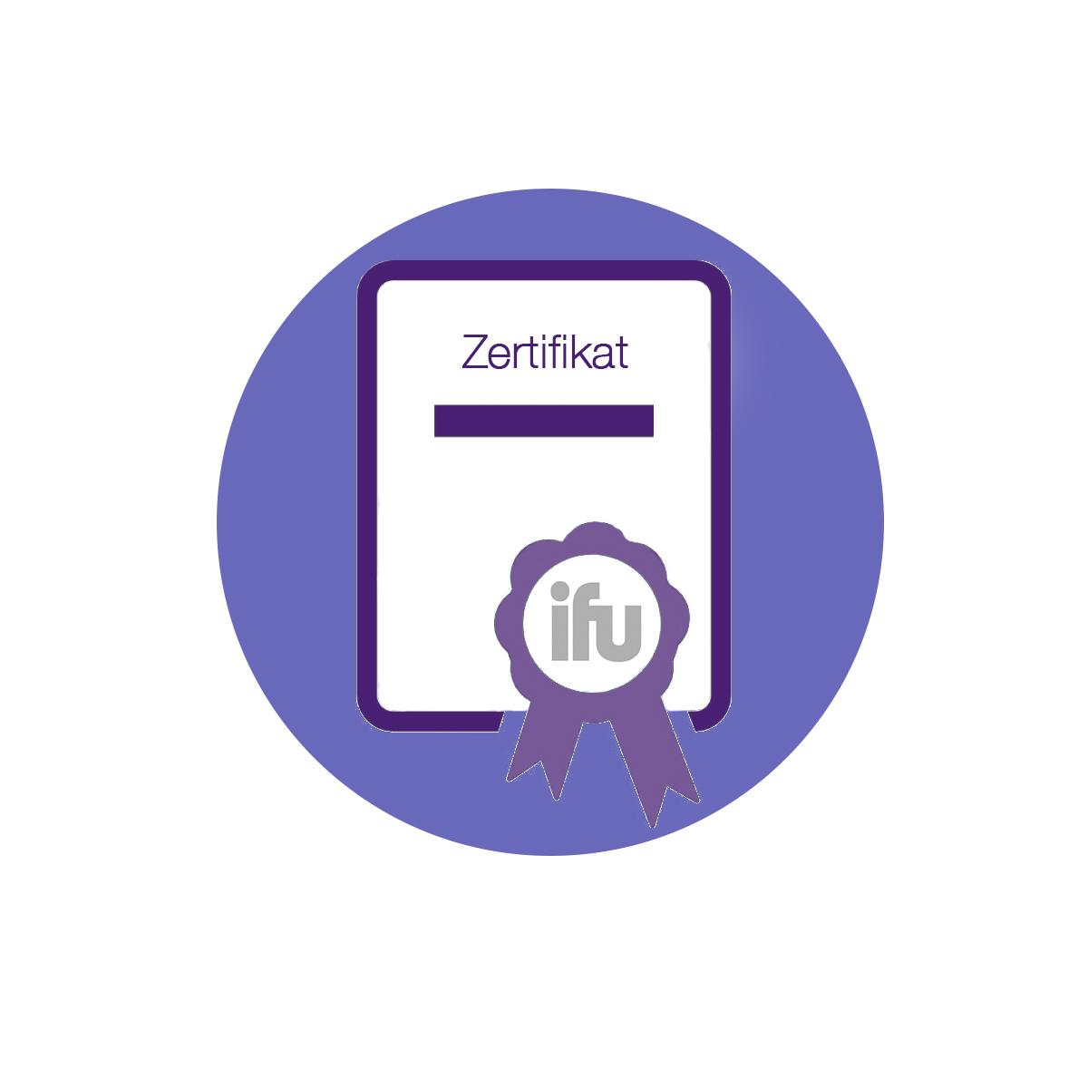 Zertifikat Icon neu