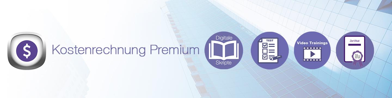 Kostenrechnung Premium Banner