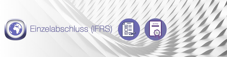 Einzelabschuss IFRS Banner