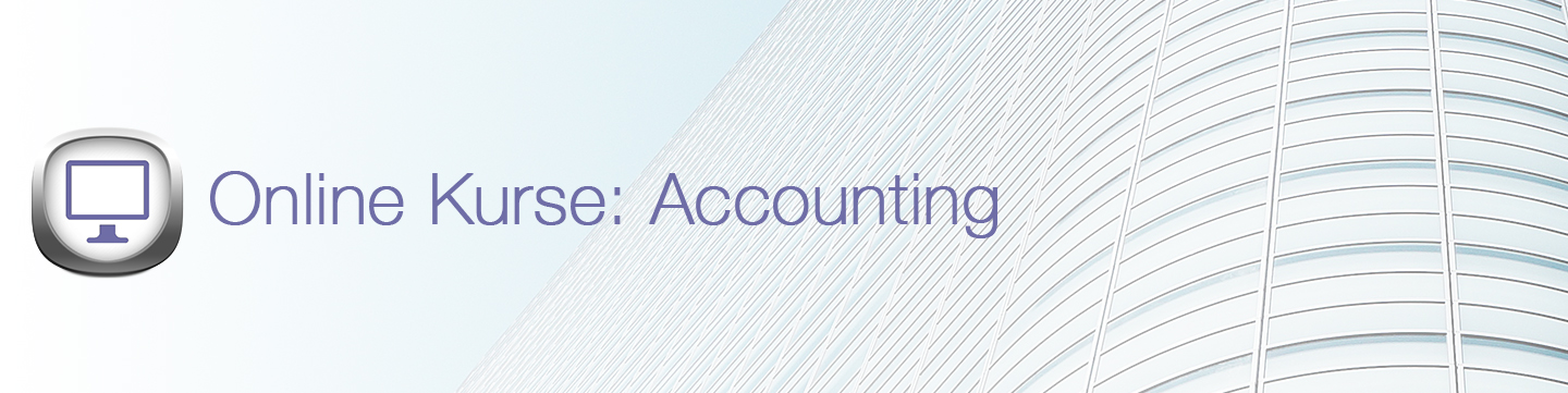 Online Kurse Accounting Banner
